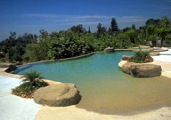Knoxville tn pool builders construct beach entry pools for Pool design with beach entry