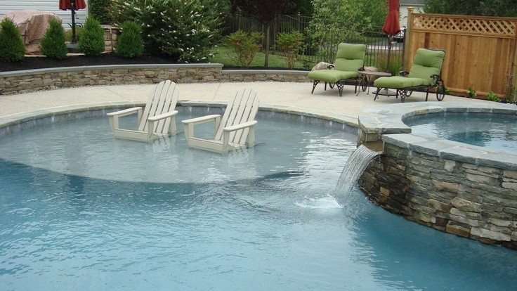 Renovate Your Pool And Add Sun Shelves Tipton Pools