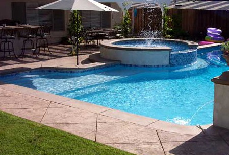 What does it cost to build a swimming pool tipton pools for Pool design knoxville tn