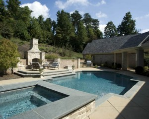 Water features to consider for your knoxville tn swimming for Pool design knoxville tn