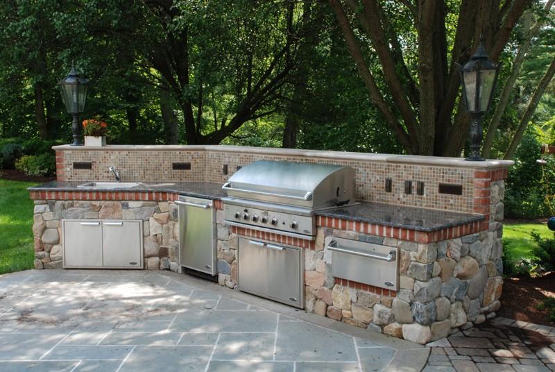 Outdoor kitchen design tipton pools knoxville for Outdoor kitchen designs nj