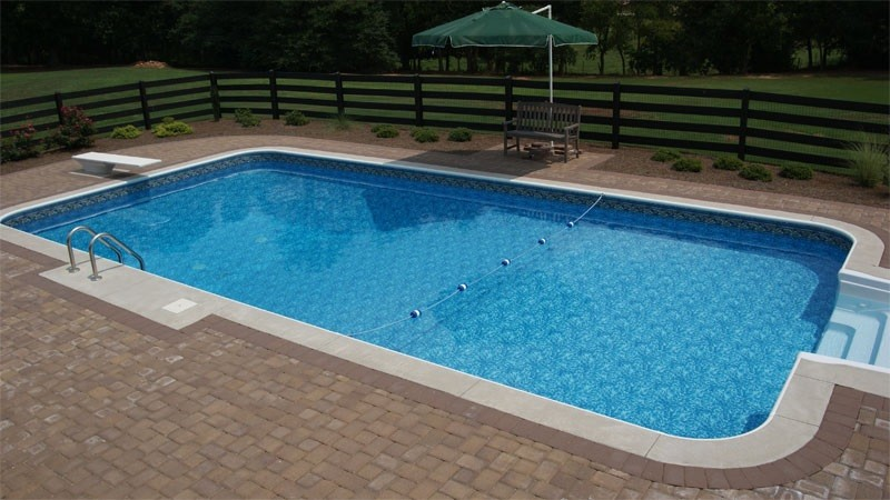 The phases of swimming pool construction tipton pools for Pool design and construction
