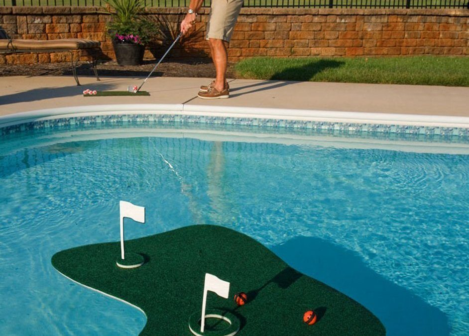 Celebrate National Golf Month Poolside