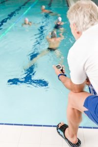 swimming pool workout