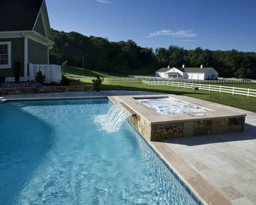 Why is pool water different colors?