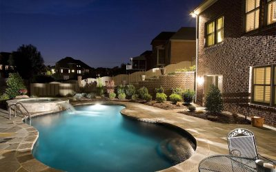Swimming pool lighting for safety and aesthetics