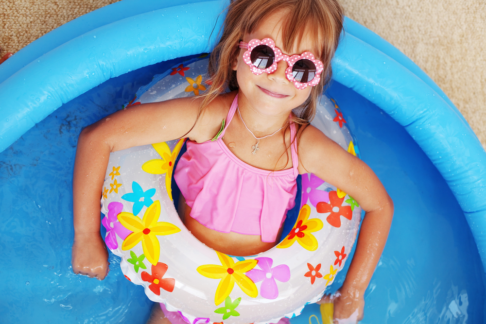 Labor Day pool party fun with your family