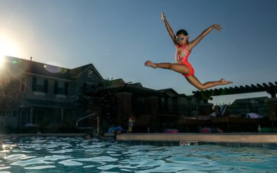 Get fit in 2021 in your swimming pool